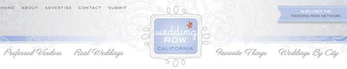 Wedding Row California