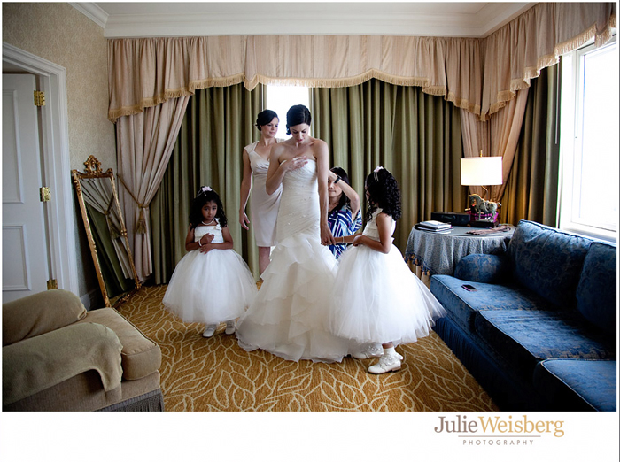 Fairmonth hotel san francisco wedding photo