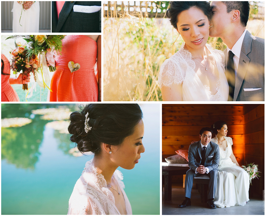 Cornerstone Gardens Sonoma asian wedding makeup