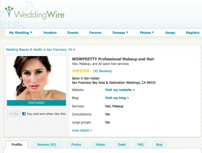 wedding wire review bay area wedding makeup hair
