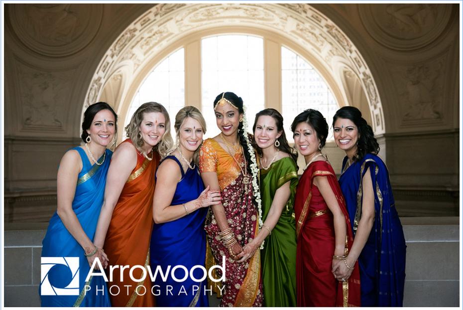 india wedding city hall san francisco