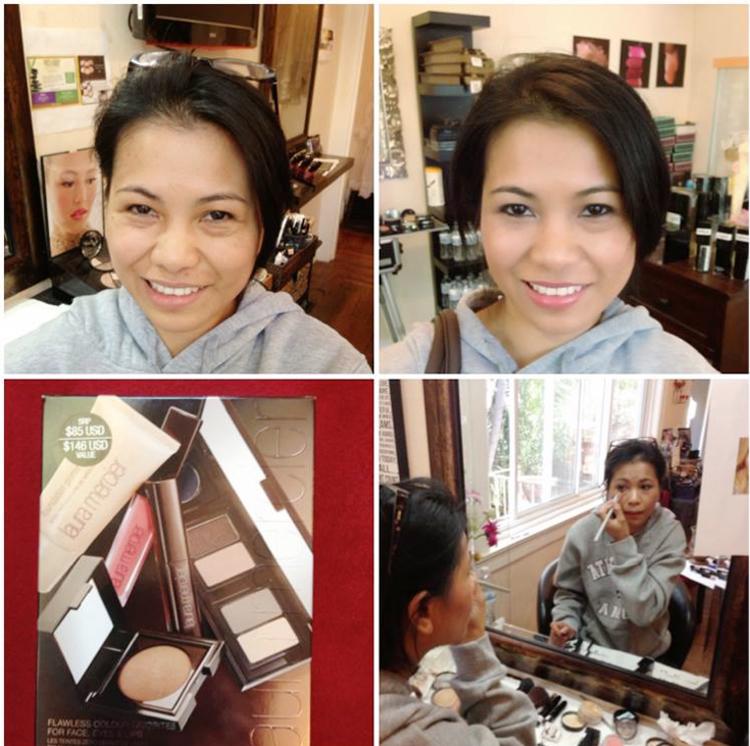makeup lesson dark skin