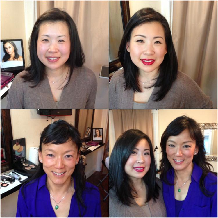makeover makeup class