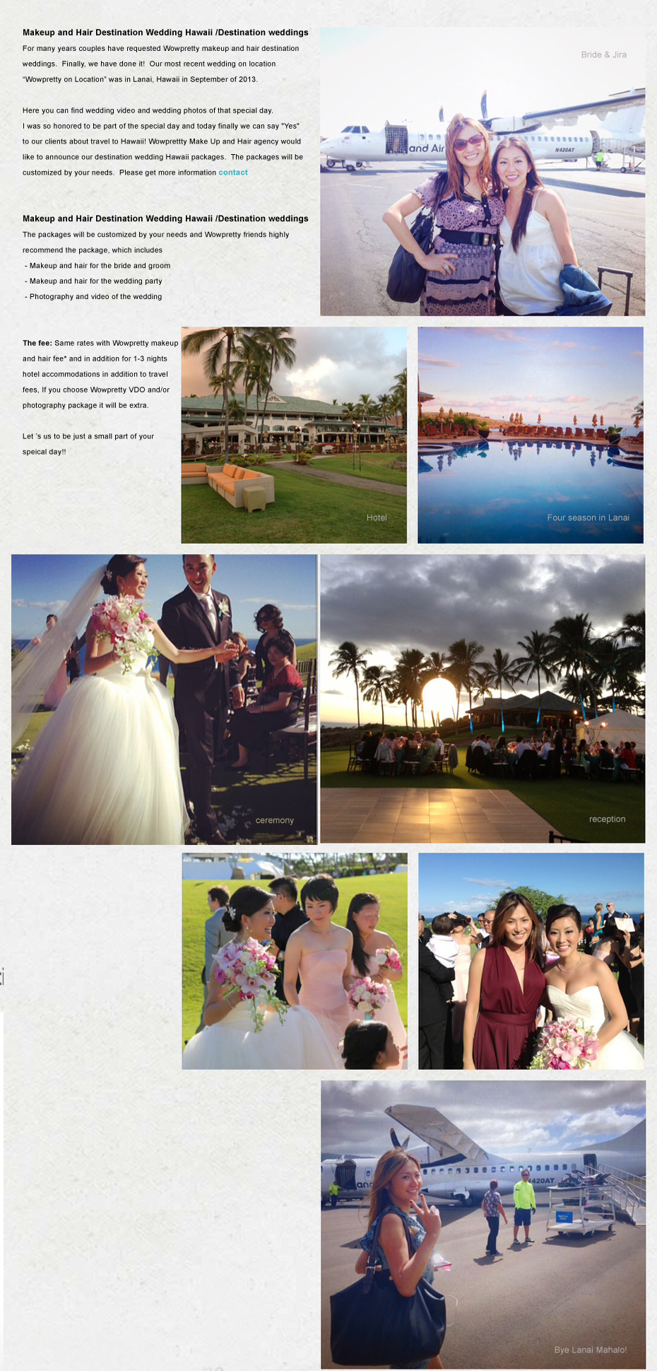 Wowpretty Destination Wedding Hawaii