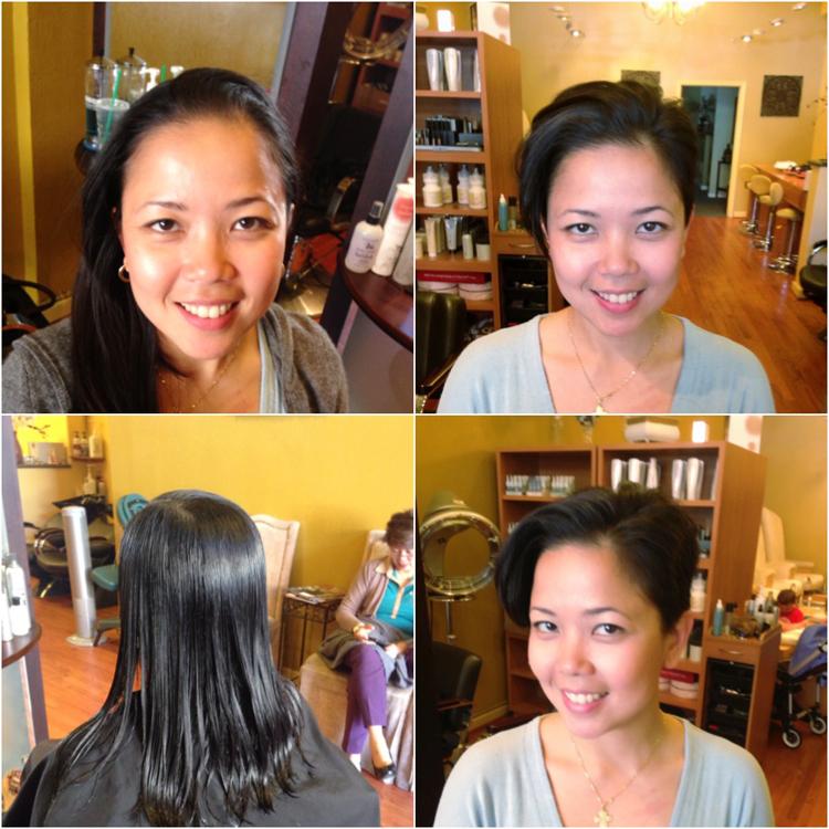 makeover haircut