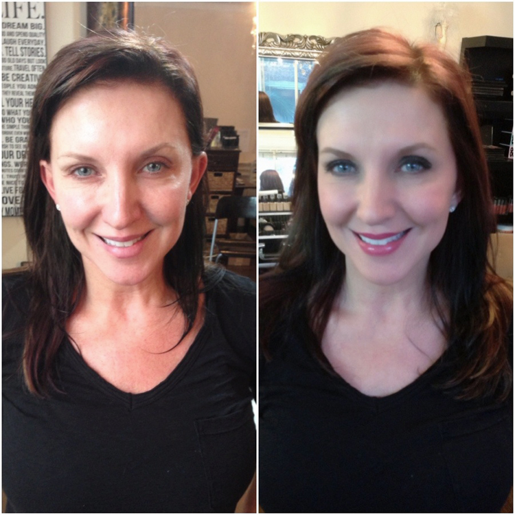 Hair And Makeup Makeovers Before And After