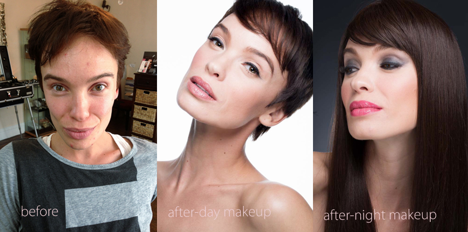 before and after makeover