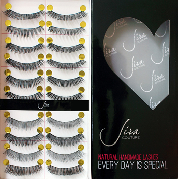 Jiracouture Natural Handmade Lashes -Funpack