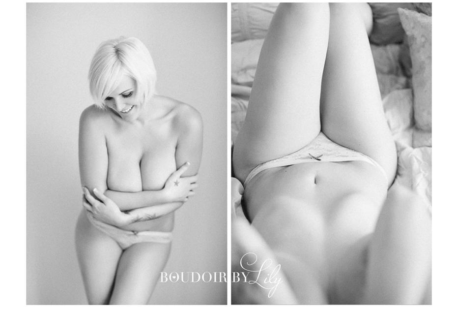 boudoir back and white