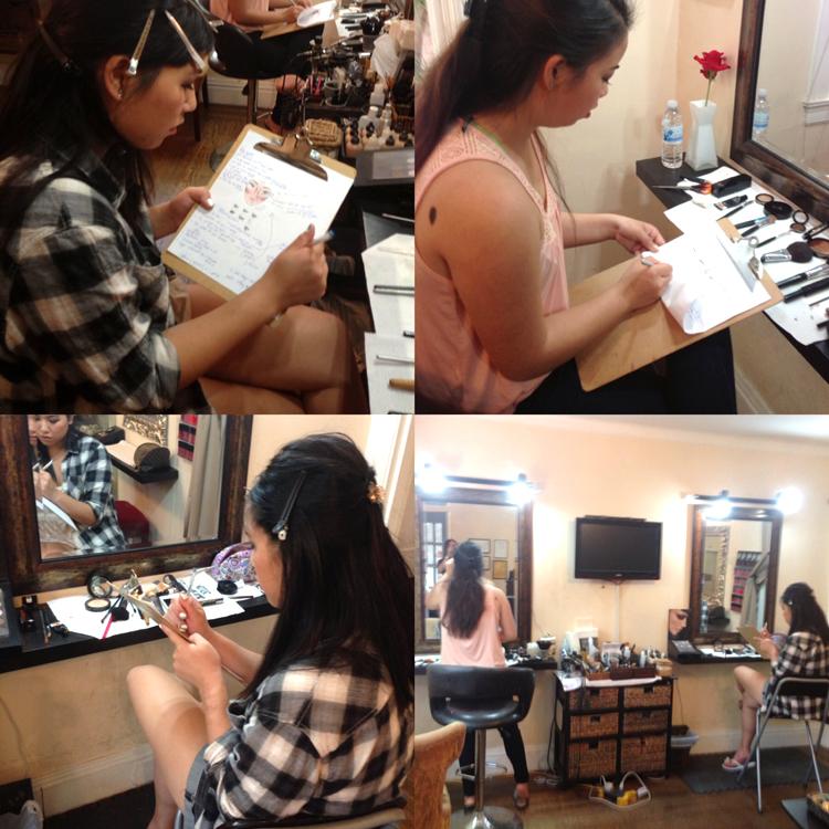 makeup hair class