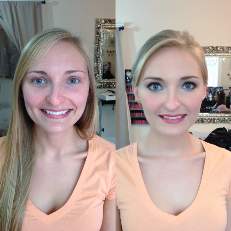 before and after trial makeup picture
