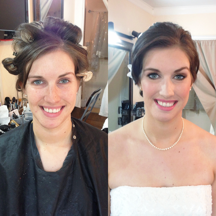 san francisco city hall wedding makeup