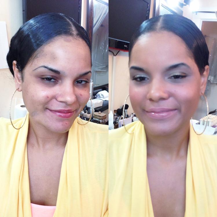 dark skin makeover