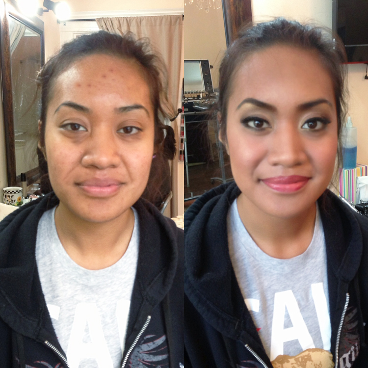 prom makeover