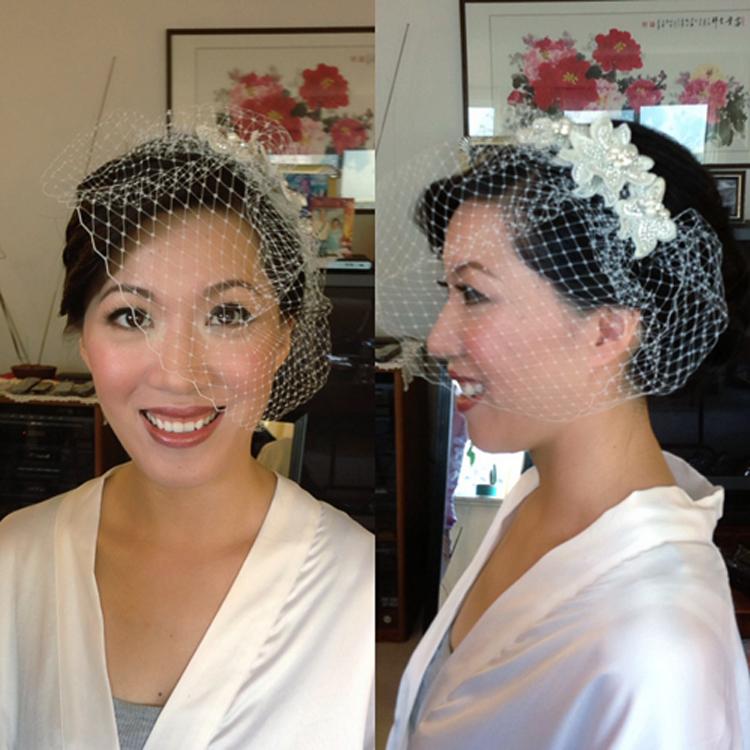 bride makeup airbrush