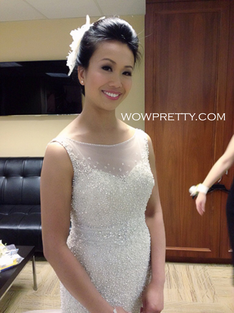 Asian bride makeup hair