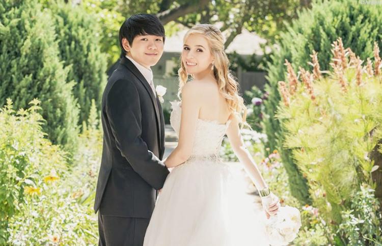 Elizabeth Gambel Garden wedding