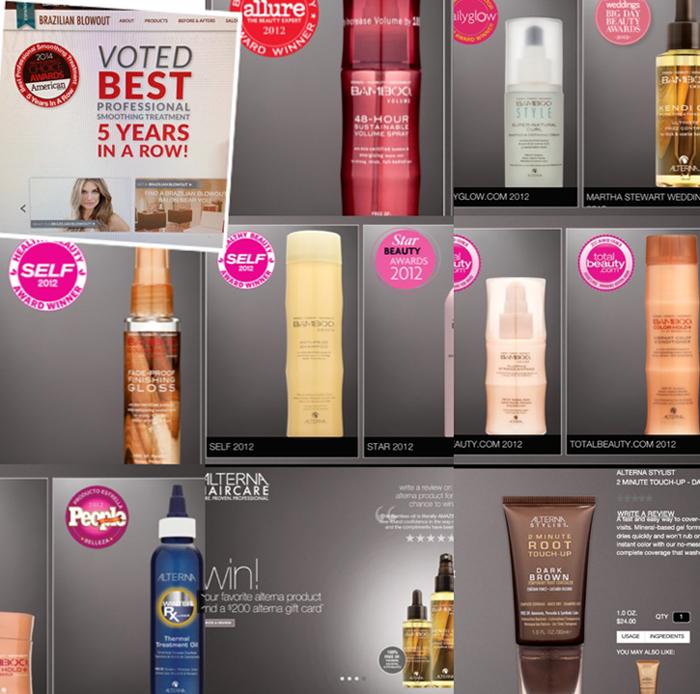 hair product awards
