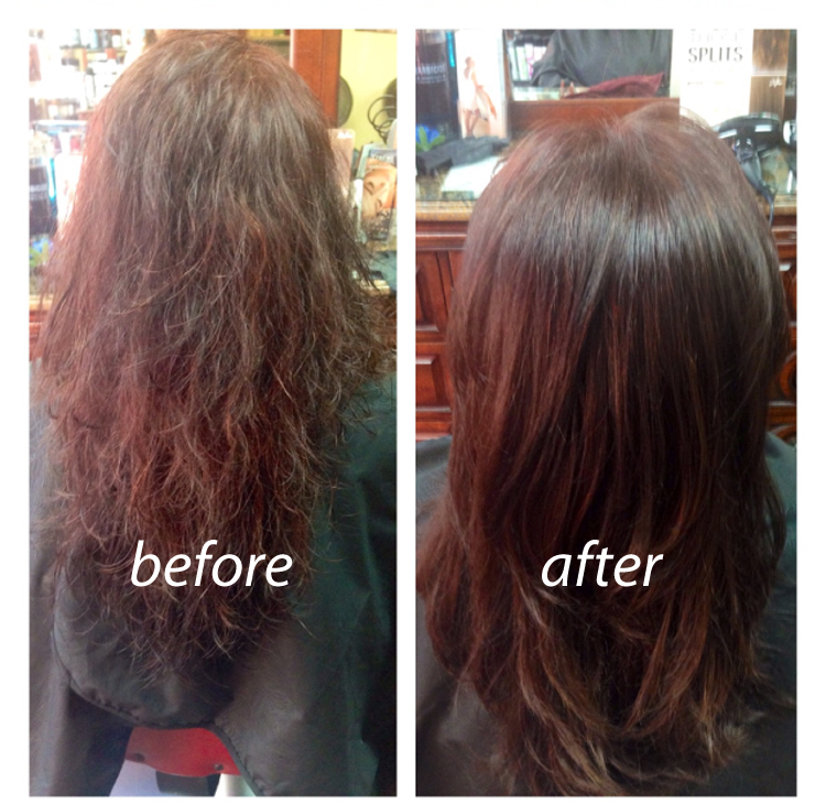 Before And After Brazilian Blowout Pictures San Francisco Makeup
