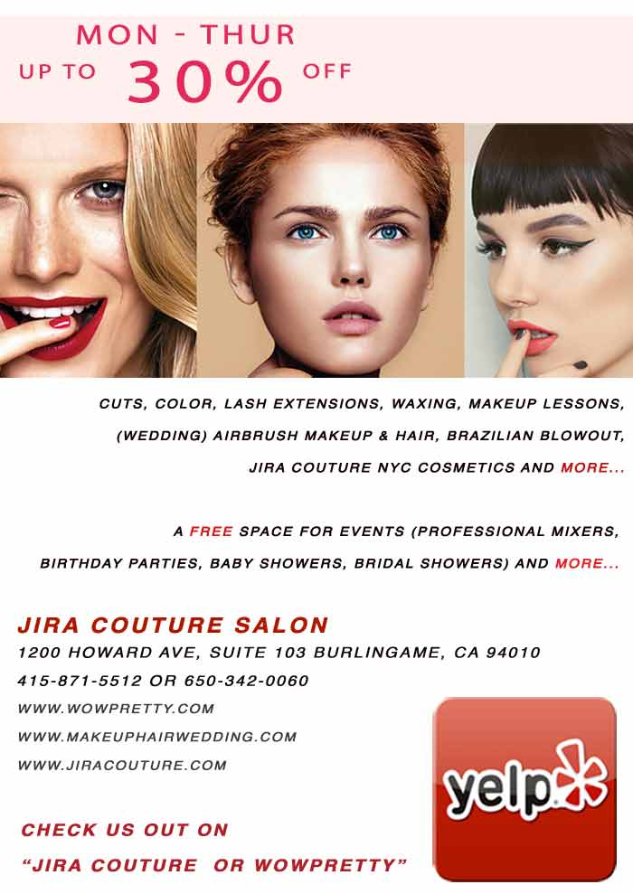 Jira Couture salon promotions