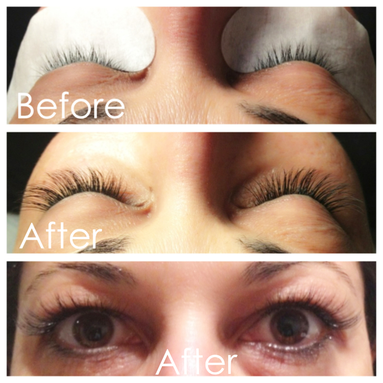 lash extensions by wowpretty.com
