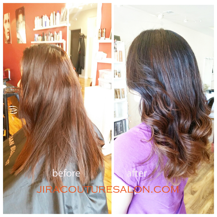 Brazilian Blow Out Posted In Before After