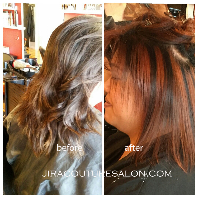 color, Branzilian Blowout