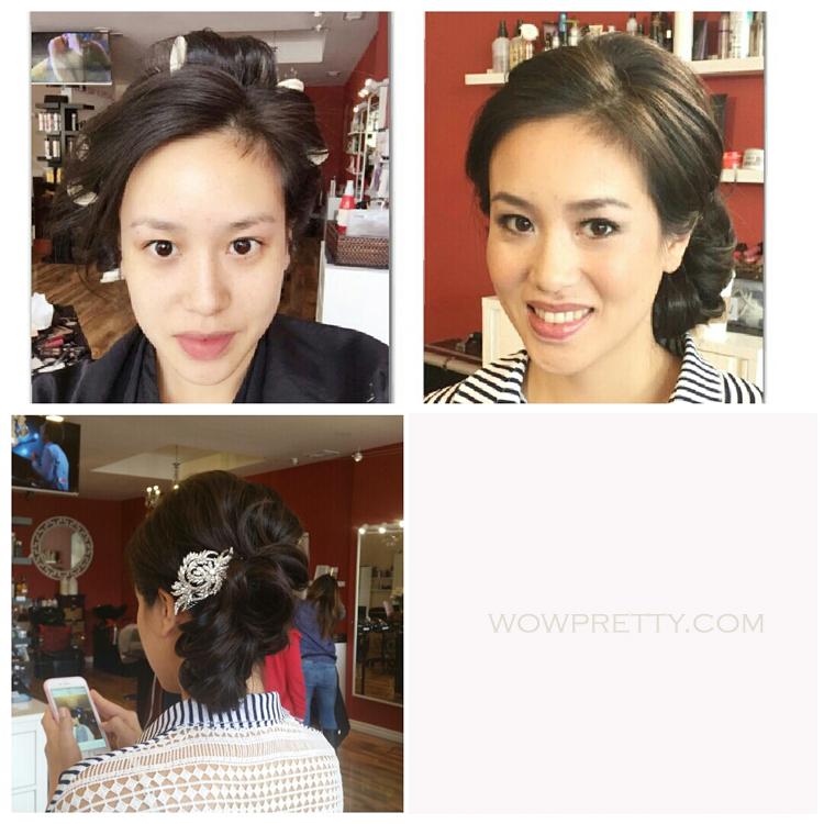 asian bride wedding makeup