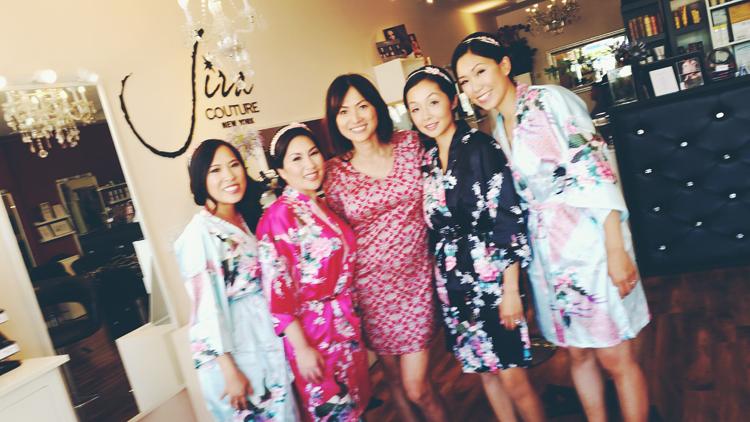 jira couture wedding makeup