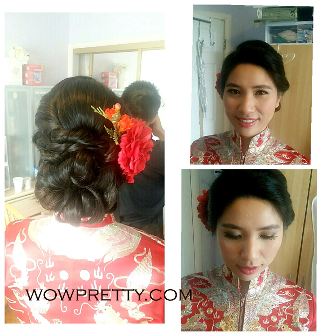 chinese wedding makeup
